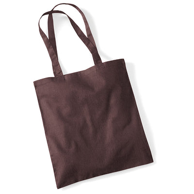 Westford Mill W101 Bag for Life Long Handles Chocolate