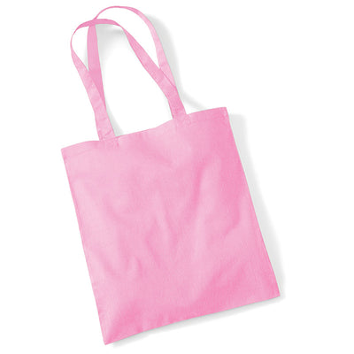 Westford Mill W101 Bag for Life Long Handles Classic Pink