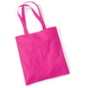 Westford Mill W101 Bag for Life Long Handles Fuchsia