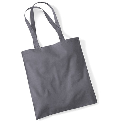 Westford Mill W101 Bag for Life Long Handles Graphite Grey
