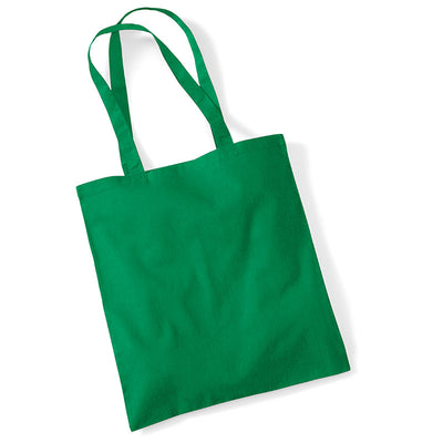 Westford Mill W101 Bag for Life Long Handles Kelly Green