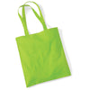 Westford Mill W101 Bag for Life Long Handles Lime Green