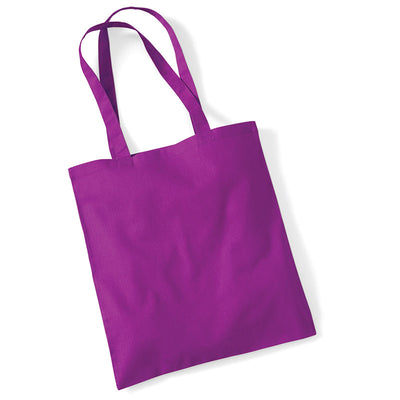 Westford Mill W101 Bag for Life Long Handles Magenta