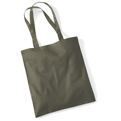 Westford Mill W101 Bag for Life Long Handles Olive Green