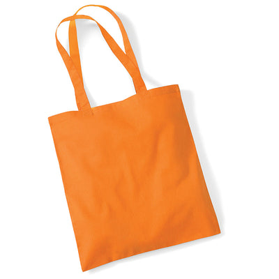 Westford Mill W101 Bag for Life Long Handles Orange