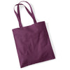Westford Mill W101 Bag for Life Long Handles Plum