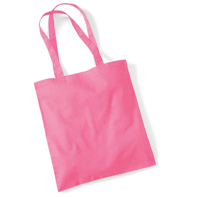 Westford Mill W101 Bag for Life Long Handles True Pink