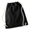Westford Mill W110 Cotton Gymsac Black