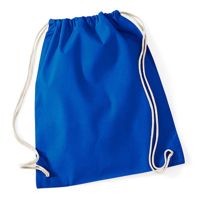 Westford Mill W110 Cotton Gymsac Bright Royal