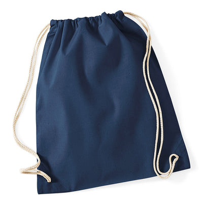 Westford Mill W110 Cotton Gymsac French Navy