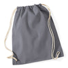 Westford Mill W110 Cotton Gymsac Graphite Grey
