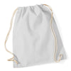 Westford Mill W110 Cotton Gymsac Light Grey