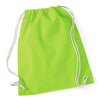 Westford Mill W110 Cotton Gymsac Lime Green