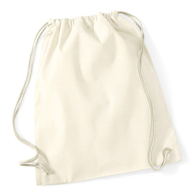 Westford Mill W110 Cotton Gymsac White