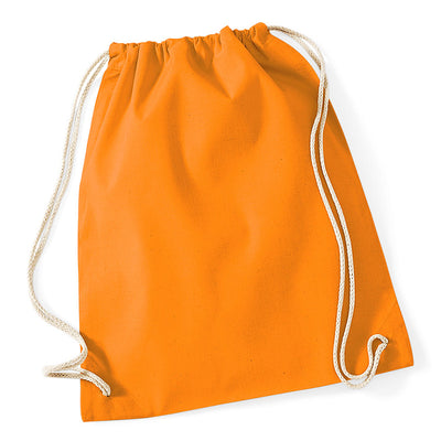 Westford Mill W110 Cotton Gymsac Orange