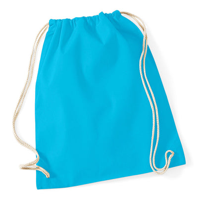 Westford Mill W110 Cotton Gymsac Surf Blue
