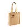 Westford Mill W406 Jute Compact Tote Natural