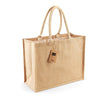 Westford Mill W407 Classic Jute Shopper Natural