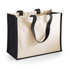 Westford Mill W422 Printers' Jute Classic Shopper Black