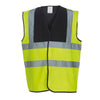 Yoko Hi Vis Vest Work Wear Waistcoat Jacket Hi-Vis Yellow / Black