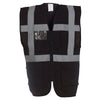 Yoko HVW801 Executive Hi Vis Vest Black