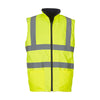 Yoko Hi Vis Reversible Waterproof Fleece Bodywarmer
