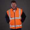 Yoko Hi Vis Multi-Function 7-in-1 Premium Waterproof Coat