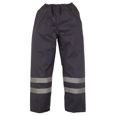 Yoko Waterproof Hi Vis Over Trousers Navy