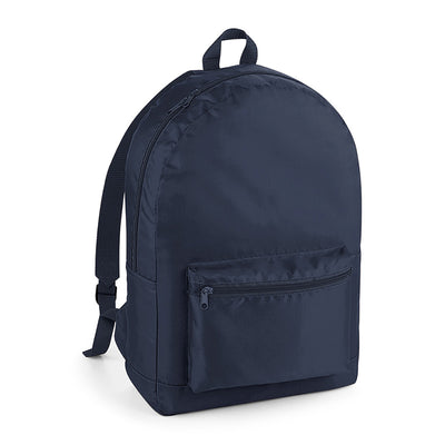 BagBase Packaway Backpack French Navy / French Navy