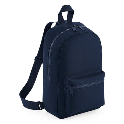 BagBase Mini Essential Fashion Backpack French Navy