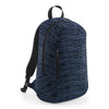 BagBase BG198 Duo Knit Backpack Navy / Black