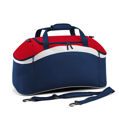 BagBase BG572 Teamwear Holdall French Navy / Classic Red / White