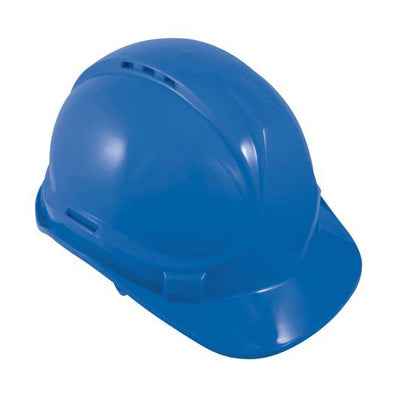 Blackrock 6 Point Safety Hard Hat Blue