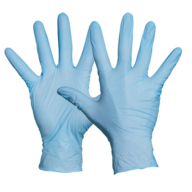 Blackrock Box Of 100 Disposable Nitrile Gloves Powder Free