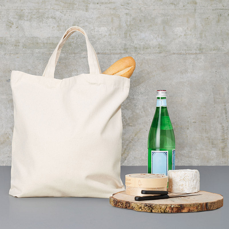 Bags by Jassz 'Yew' Classic Short Handle Canvas Tote