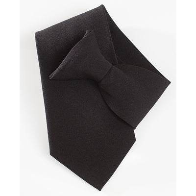 Yoko Clip On Tie Security, Doormen, Funerals etc Black