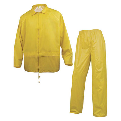 Delta Plus EN400 Waterproof Rainsuit Yellow