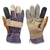 Silverline Multi-Coloured Cow Hide Furniture Rigger Gloves