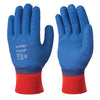 Skytec HELIUM Blue Grip Latex Crinkle Coated Safety Gloves