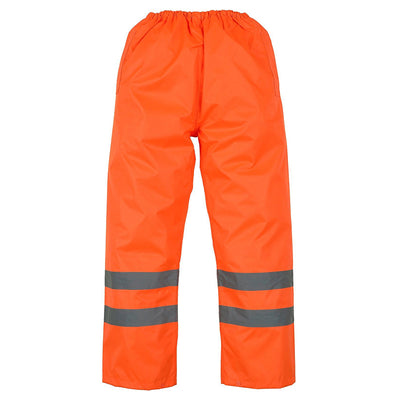 Yoko Hi Vis 3M Waterproof Orange Over Trousers