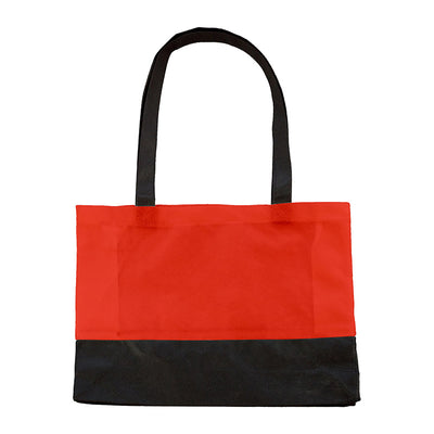Bags by Jassz 'Hops' Small Shopper Short Handle Red / Black