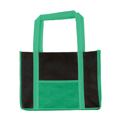 Bags by Jassz 'Hibiscus' Leisure Bag Long Handle Dark Green / Black