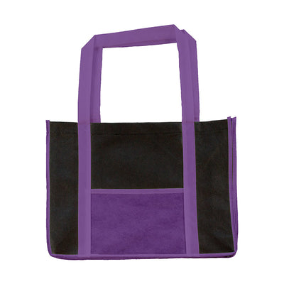 Bags by Jassz 'Hibiscus' Leisure Bag Long Handle Lilac / Black