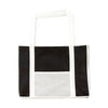 Bags by Jassz 'Hibiscus' Leisure Bag Long Handle Snow White / Black