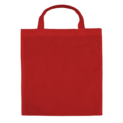 Bags by Jassz 'Holly' Basic Short Handle Shopper Red