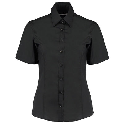 Kustom Kit KK742F Ladies' Business Shirt Black