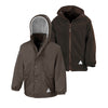 Result R160JY Children's Reversible StormDri 4000 Fleece Jacket Brown