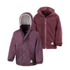 Result R160JY Children's Reversible StormDri 4000 Fleece Jacket Burgundy