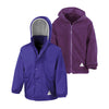 Result R160JY Children's Reversible StormDri 4000 Fleece Jacket Purple