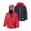 Result R160JY Children's Reversible StormDri 4000 Fleece Jacket Red / Navy